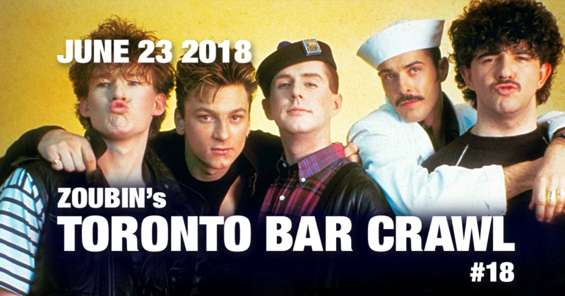 event poster toronto bar crawl #18