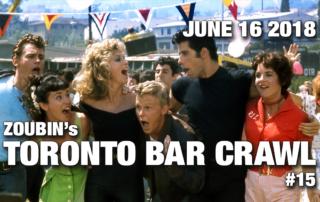 event poster toronto bar crawl #15