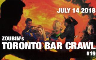 Toronto Bar Crawl #19 - event-poster