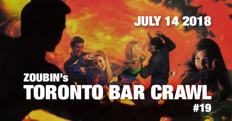 Toronto Bar Crawl #19 - event-poster