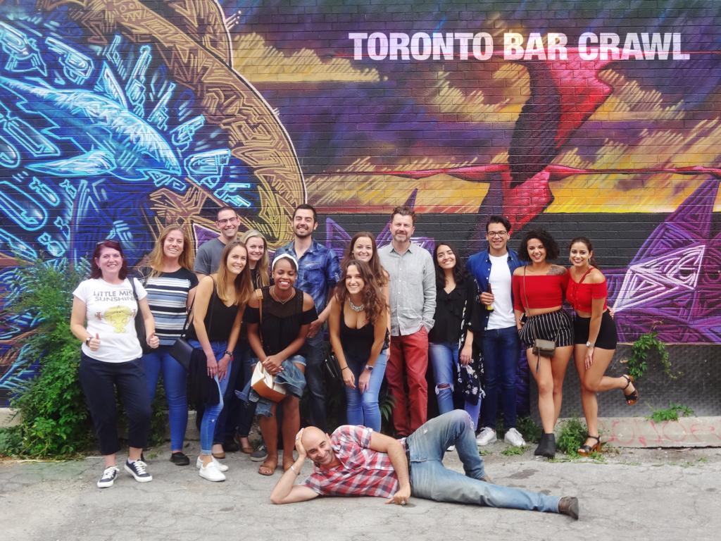 Toronto Bar Crawl #23 groupshot