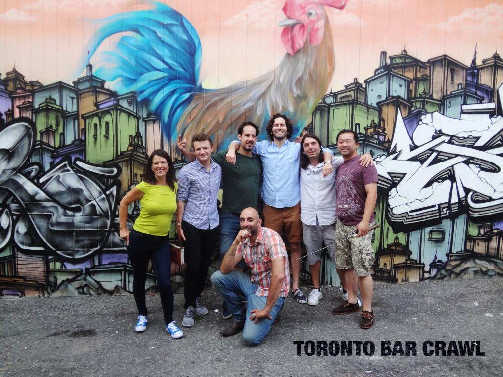 Toronto Bar Crawl #19 Group Shot