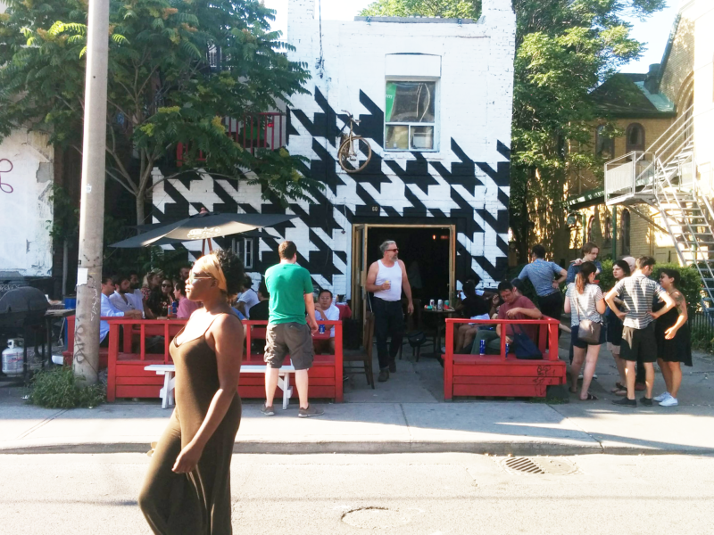 Houndstooth bar toronto grand opening