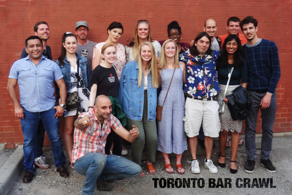 Toronto Bar Crawl #16 groupshot