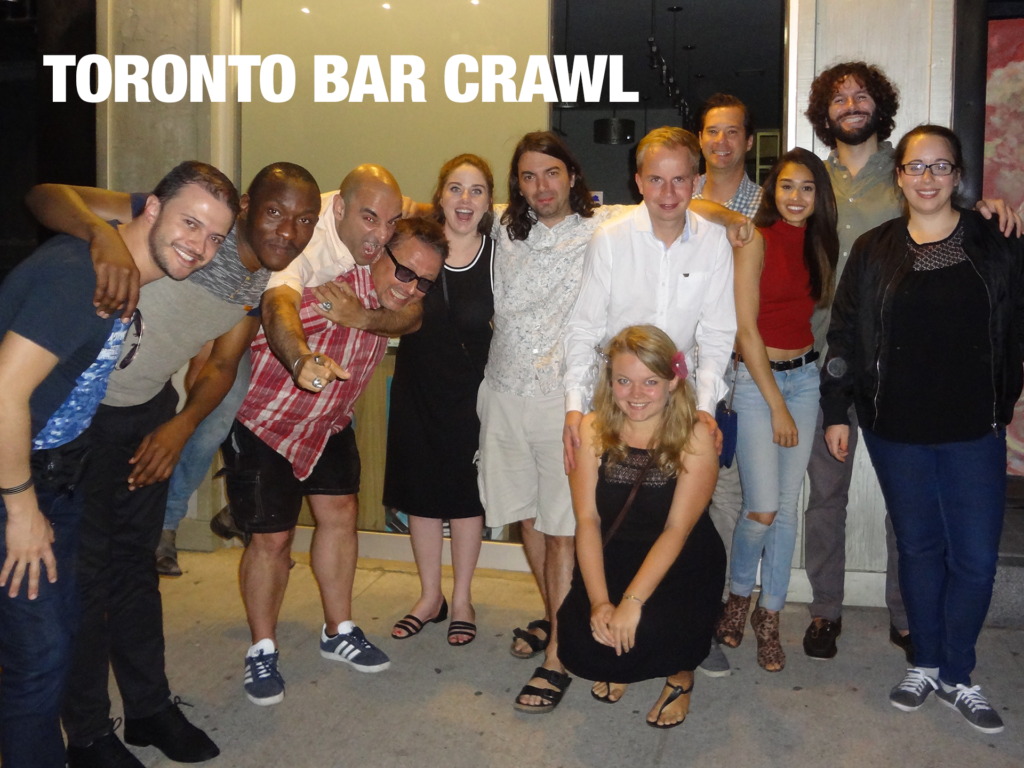 Toronto Bar Crawl #14 Group Photo
