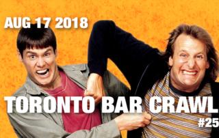 toronto bar crawl #25 event poster