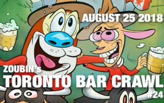 Toronto Bar Crawl #24 event poster