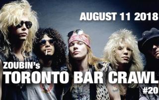 toronto bar crawl 20 poster