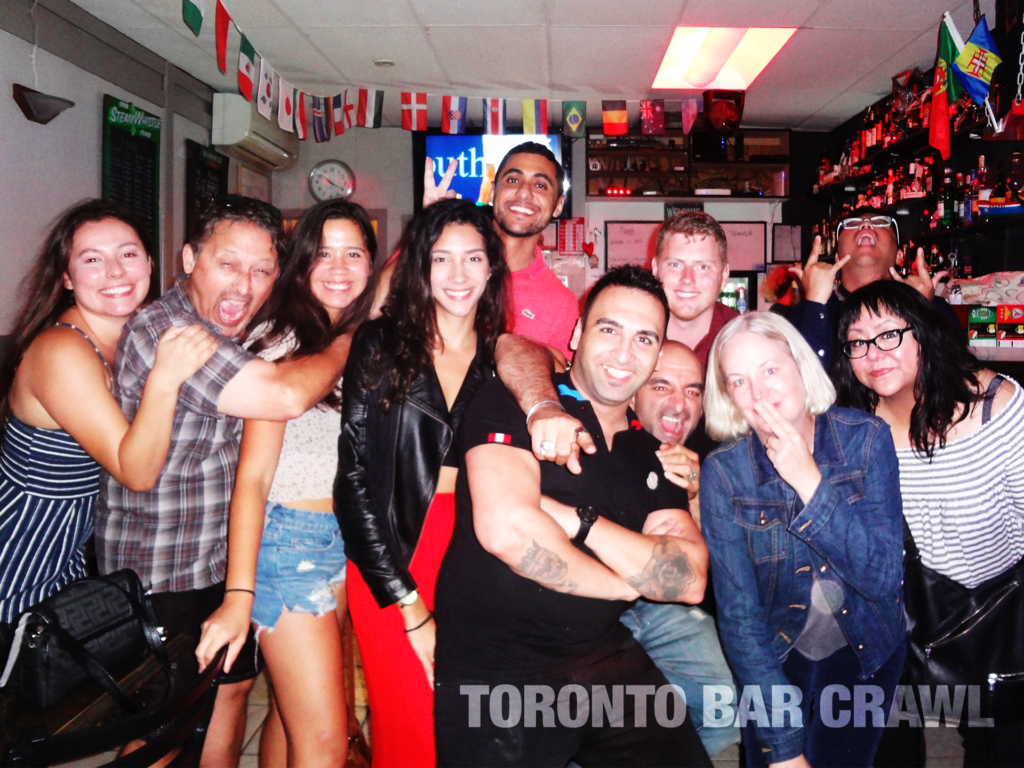 Toronto Bar Crawl #25 August 17 2018 groupshot