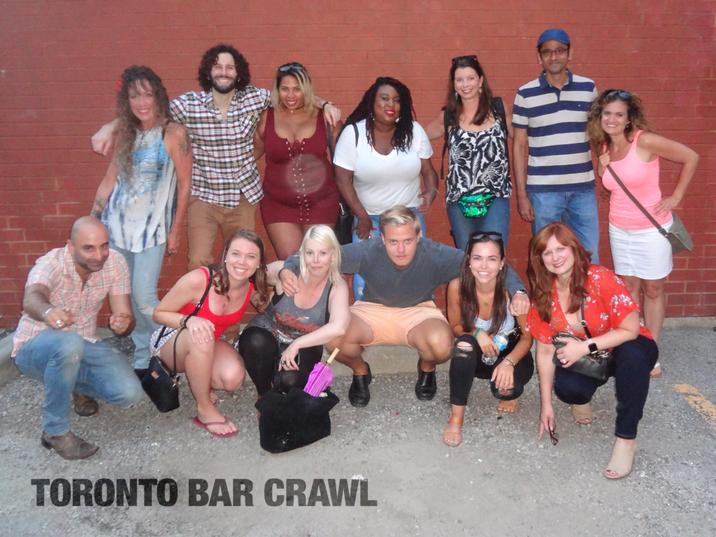 Toronto Bar Crawl #20: Aug 11 2018: groupshot