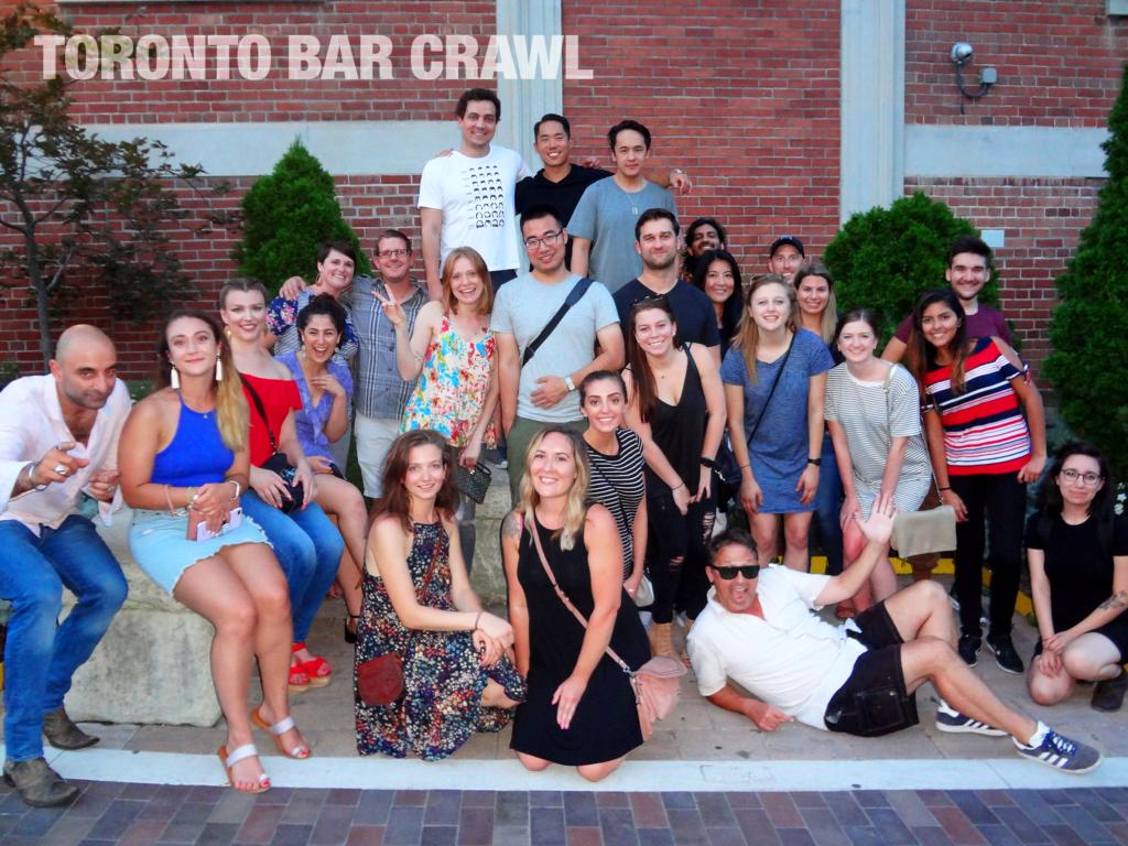 Toronto Bar Crawl #21 Group Photo