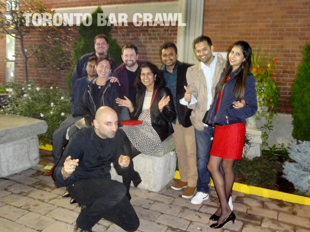 toronto bar crawl #27 group shot