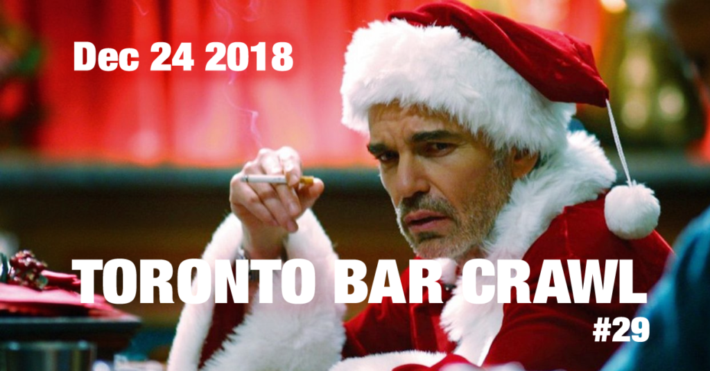 Toronto Bar Crawl #29 event poster