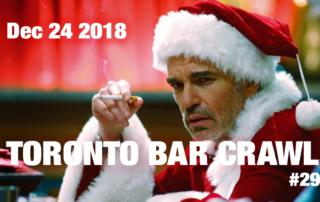 Toronto Bar Crawl #29 event poster