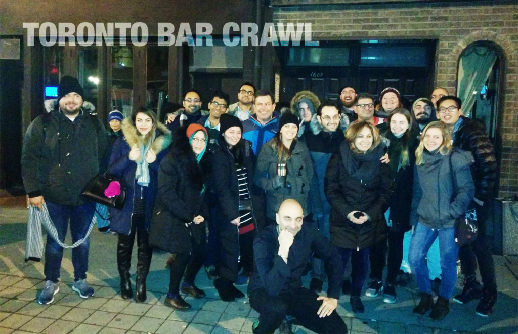toronto bar crawl #29 group-shot